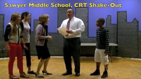 """Thumbnail for entry Sawyer CRT """"Shake-Out"""""""