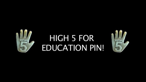 Thumbnail for entry PV High Five for Education Pin Commercial