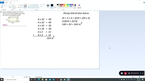Thumbnail for entry 7th Grade - 4th Quarter Lesson 9-4 Video Lesson #4 for Wednesday 5/27/2020