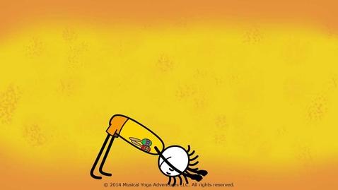 Thumbnail for entry Kids sun salutation youtube v2