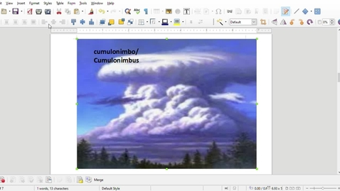 Thumbnail for entry Cumulonimbo or cumulonimbus