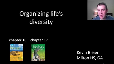 Thumbnail for entry Organizing life's diversity
