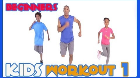 Thumbnail for entry Kids workout 1 Beginners