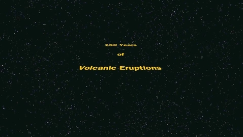 Thumbnail for entry 150 Years of Volcanic Eruptions
