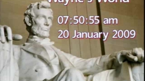 Thumbnail for entry Wayne's World 1/20/2009
