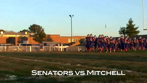 Thumbnail for entry Senator Football vs Mitchell 10/8/10