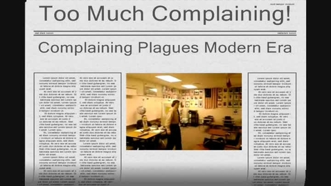 Thumbnail for entry McAfee AP Lang Why Don't We Complain  Devin