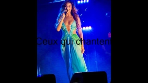 Thumbnail for entry ceux qui chantent