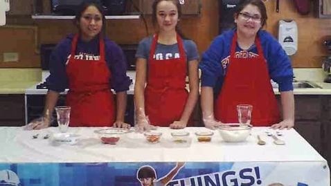 Thumbnail for entry Frozen Yogurt Pop Northbrook Middle School Mendota, IL  Fuel Up To Play 60