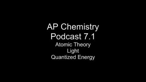 Thumbnail for entry AP Chem 7.1 Atomic Theor, EMR