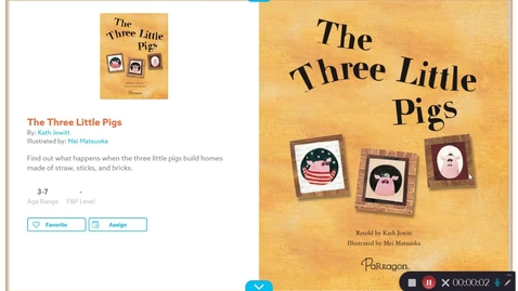 Thumbnail for entry The Three Little Pigs Read Aloud #1