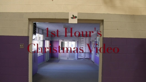 Thumbnail for entry 1st Hour Christmas Video
