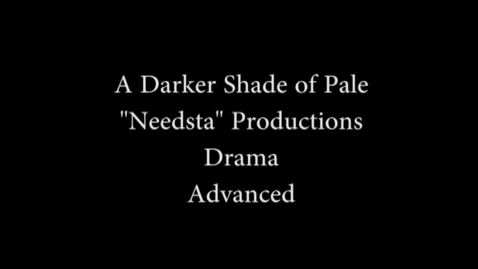 Thumbnail for entry A Darker Shade of Pale