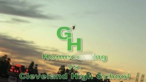 Thumbnail for entry Varsity Football VS Cleveland HS 10-14-11