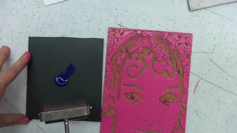 Thumbnail for entry Linoleum Block Print 7: Creative Use of Color