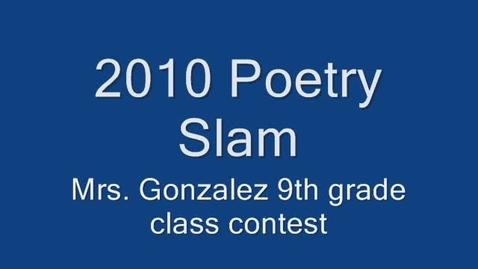 Thumbnail for entry Poetry Slam LFU TX