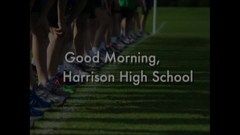 Thumbnail for entry Harrison High School News 11-02-16