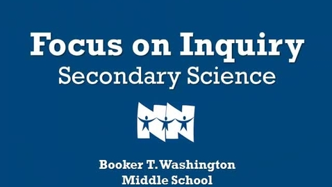 Thumbnail for entry February 2013 Focus on Inquiry