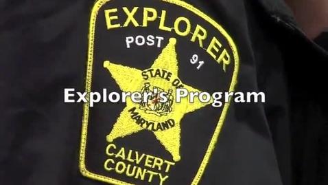 Thumbnail for entry Sheriff's Explorer's Program