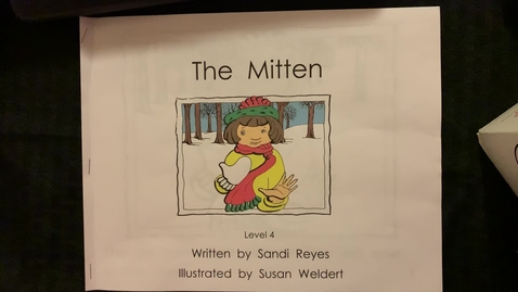 Thumbnail for entry The Mitten read aloud