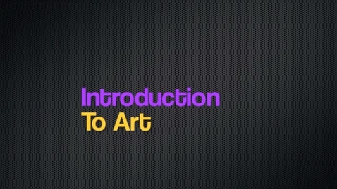 Thumbnail for entry Intro to Art: 2012-2013
