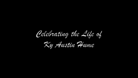 Thumbnail for entry Celebration of Ky's Life (Highlights-6 Min)