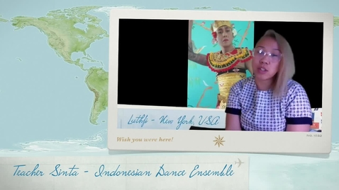 Thumbnail for entry What is Indonesian Dance explained by T Sinta