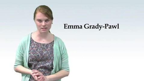 Thumbnail for entry Emma Grady-Pawl Commentary