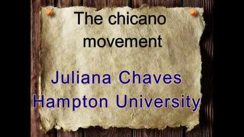 Thumbnail for entry Juliana Chaves's Digital Story