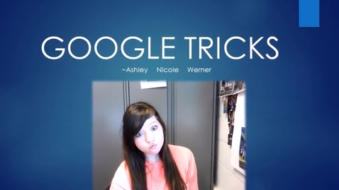 Thumbnail for entry Google Tricks By ANW