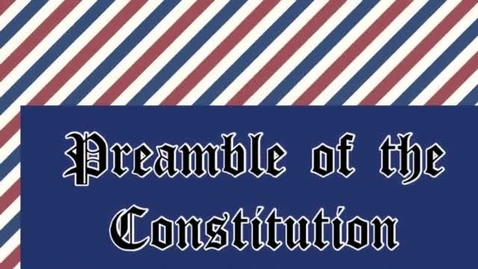 Thumbnail for entry Preamble of the Constitution
