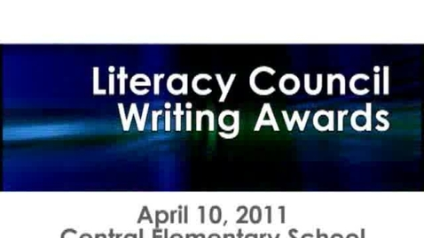 Thumbnail for entry Knox County Literacy Awards