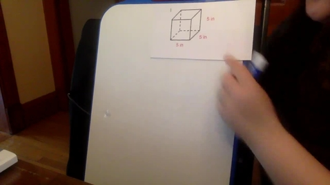 Thumbnail for entry Surface Area Lesson