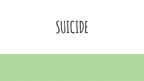 Thumbnail for entry SESD Suicide Prevention- Presented By Kara Vojcsik