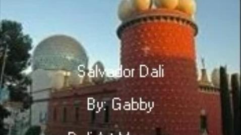 Thumbnail for entry Salvador Dali