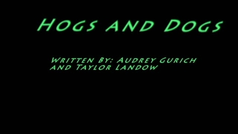 Thumbnail for entry Hogs and Dogs