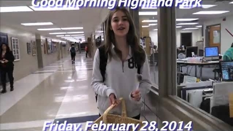 Thumbnail for entry Friday, February 28, 2014