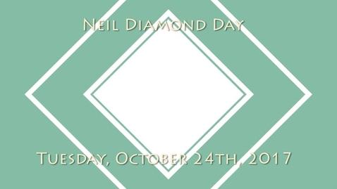 Thumbnail for entry WSCN 10.24.17 - Neil Diamond Day