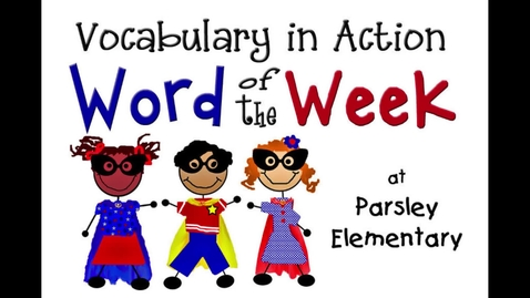 Thumbnail for entry Word of the Week:  Illustrations (2017)