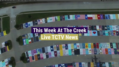 Thumbnail for entry This Week at the Creek - Live News for Sept. 17, 2021