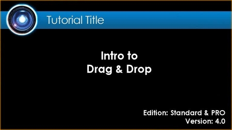 Thumbnail for entry iClone Tutorial - Drag & Drop