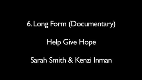 Thumbnail for entry Help Give Hope