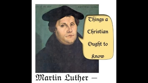 Thumbnail for entry Things a Christian Ought to Know :: Being Prepared with Attitude