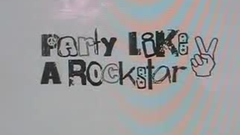 Thumbnail for entry Party Like a Rockstar - WSCN Music Video (2007/2008)