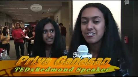 Thumbnail for entry TEDxRedmond: Priya Ganesan Interviews Her Sister Maya