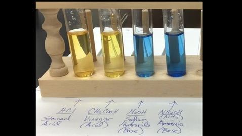 Thumbnail for entry Properties of Acids and Bases - Experimentation