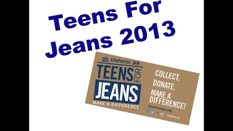 Thumbnail for entry Teens For Jeans