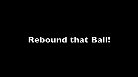 Thumbnail for entry Basketball Cheer - Rebound That Ball