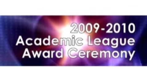 Thumbnail for entry Knox County Academic League Award Ceremony