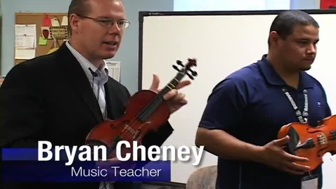 Thumbnail for entry Will Rogers Elementary Violin Class